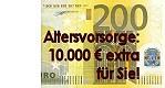 Altersvorsorge: 10.000€ extra für Sie!